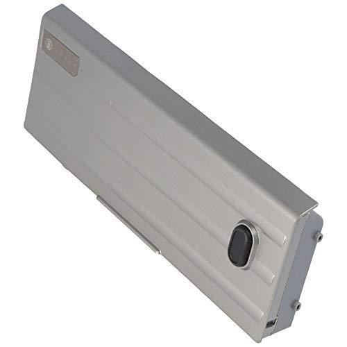 Powery - Batería para DELL Latitude D620 (ión de Litio, 11,1 V, 5200 mAh, 57,7 WH), Color Gris metálico