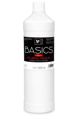 Malverk Basics -2in1- Acryl Pouring Medium & Vinylkleber 1000ml