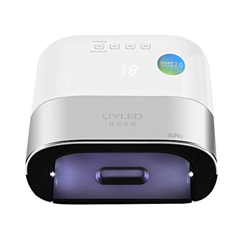 SUNUV led, 48 W nail dryer UV intelligente automatische detectie 4 soorten timing instellingen 10S / 30S / 60S / 99S / beveiliging tegen oververhitting E dubbele snelheid