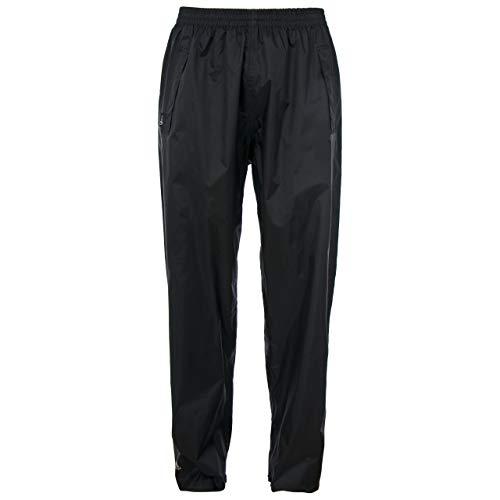 Trespass Qikpac Pant, Black, XL, Kompakt Zusammenrollbare Wasserdichte Regenhose mit 3 Taschenöffnungen für Damen und Herren / Unisex, X-Large, Schwarz