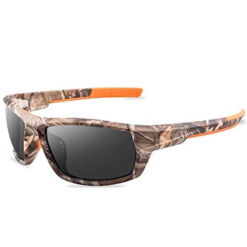 WSDSX Gafas de sol polarizadas al aire libre para conducir gafas de sol polarizadas Gafas de sol deportivas polarizadas, para conducir viajes de pesca, gris