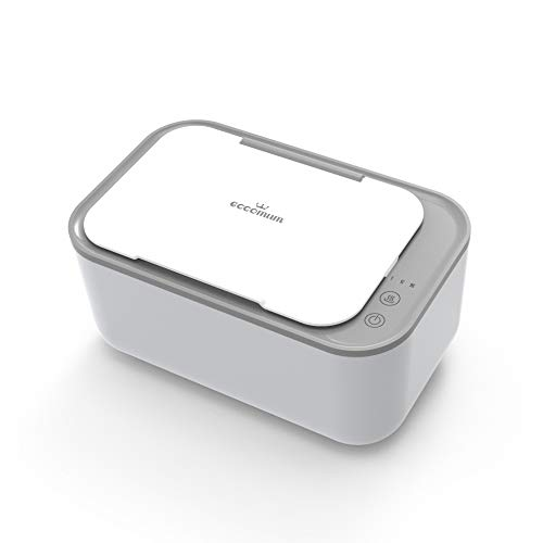 Wipe Warmer and Dispenser, Eccomum Baby Wipe Warmer with Precise Temperature Control, Pass UL Certification, Large Capacity, Evenly and Quickly Overall Heating, Super Silent, Leak-Proof Design