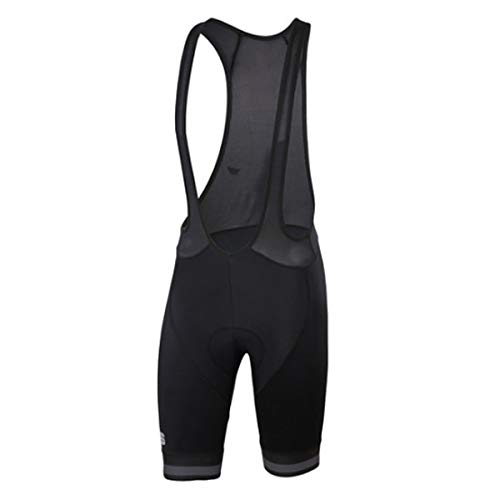 Sportful Salopette Bodyfit Team Classic Uomo, Black