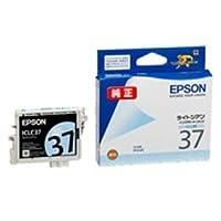 (業務用4セット) EPSON エプソン インクカートリッジ 純正 【ICLC37】 ライトシアン(青) AV デジモノ パソコン 周辺機器 インク インクカートリッジ トナー トナー カートリッジ エプソン(EPSON)用 top1-ds-1463119-ah [簡素パッケージ品]