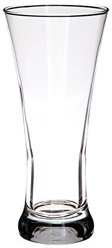Style Setter Abigail Pilsner Glasses, Set of 4