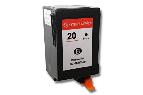 vhbw Cartucho de Tinta Negro Compatible con Canon BJC-2000, BJC-2100, BJC-2110, BJC-2115, BJC-2120, BJC-4000 Impresora (Rellenado, 32ml)
