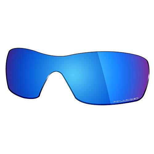 Mryok + Polarisierte Ersatzgläser für Oakley Dart – Eisblau