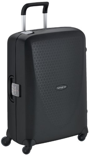 Samsonite Termo Young Spinner M Suitcase Luggage, 70 cm, 69 Litre, Black (Black)