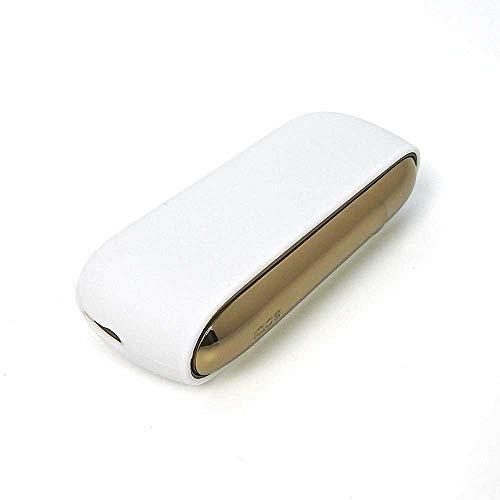IQOS3 IQOS3 DUO アイコス ケース ホワイト カバー 電子タバコ 専用 耐衝撃 耐熱 薄型 頑丈 シンプル コンパクト 軽量 ソフト シリコン【Provare】 (iQOS3, ホワイト)