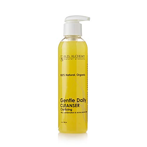 100% Natural & Organic Gentle Daily Cleanser. Best Face Wash for Acne & Blackheads, Oily Skin, and Combination Skin. Deep Cleansing Facial with Ingredients like Tea Tree, Chamomile, and Goldenseal.
