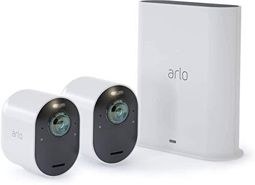 Arlo Ultra 4K HDR | caméra de surveillance Wifi sans fil. Grand...