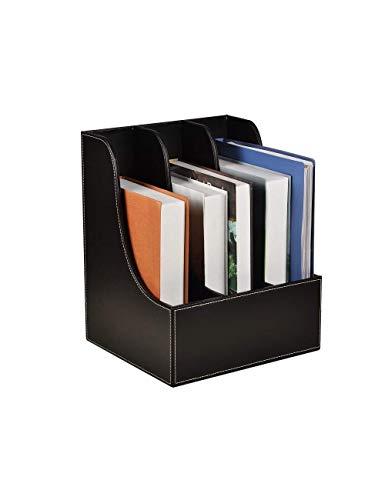 Carpeta de documentos, Organizador de archivos/Titular de archivos, Organizador de papeles, Archivos Soporte de archivo Revista Rack Rack Archivo de almacenamiento de escritorio, a Dirgee