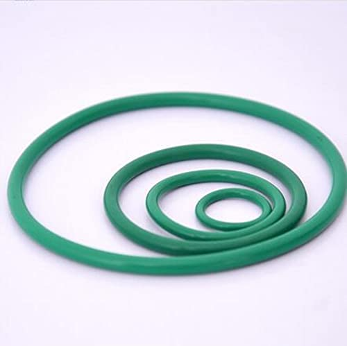 Lysee Washers - 2pcs 5.3mm Wire New Free Shipping green ring Same day shipping fluororubber diameter