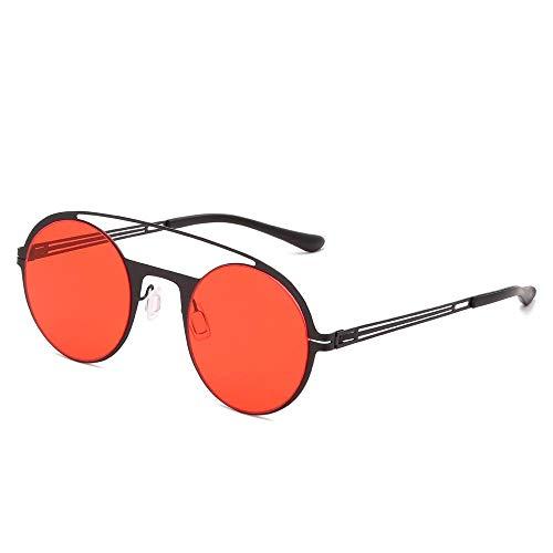 Sunglasses Gafas De Sol Redondas Steampunk Diseñador De La Marca Mujeres Hombres Vintage Metal Punk Gafas De Sol Uv400 Sombras Gafas 07