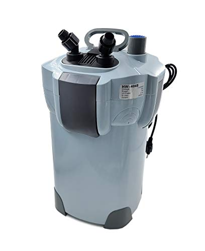 SunSun Sun HW-404B 525 GPH 5-Stage External Canister Filter with 9W Uv Sterilizer