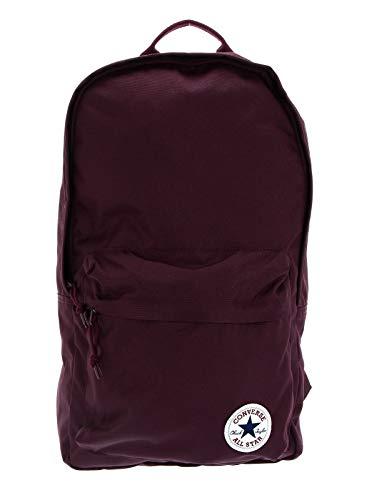Converse EDC Poly Backpack Mochila, Unisex Adulto, Burgundy, 22L