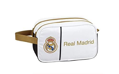 Real Madrid CF Neceser, Bolsa de Aseo Adaptable a Carro
