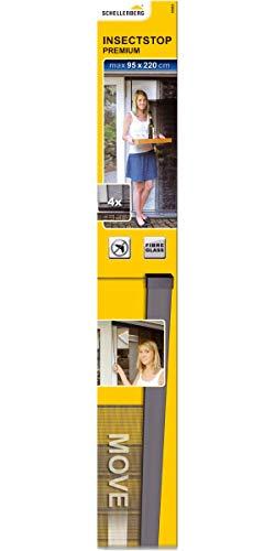 Schellenberg 50662 Insektenschutz Vorhang Premium individuell kürzbar in Breite und Höhe, einfach zu verschieben
