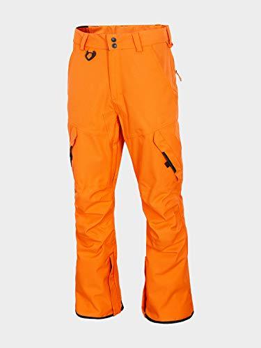 4F Herren Snowboardhose Hans, Orange Neon, XL