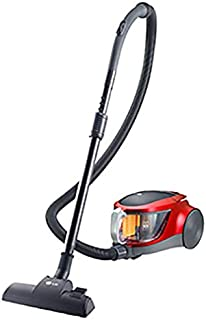 LG Bagless Vacuum Cleaner , VK5320NNT Red, 1 Year Warranty