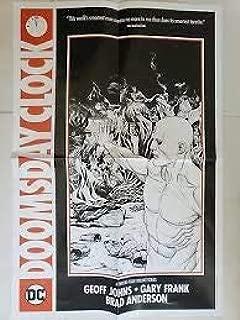 "DC Comics Doomsday Clock Dr. Manhattan Folded Promo Poster (15 X 22"")"