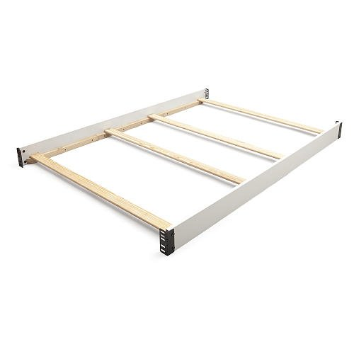 Full Size Conversion Kit Bed Rails for Baby Relax Collins, Colton, Edgemont, Hathaway & Miles Cribs - White