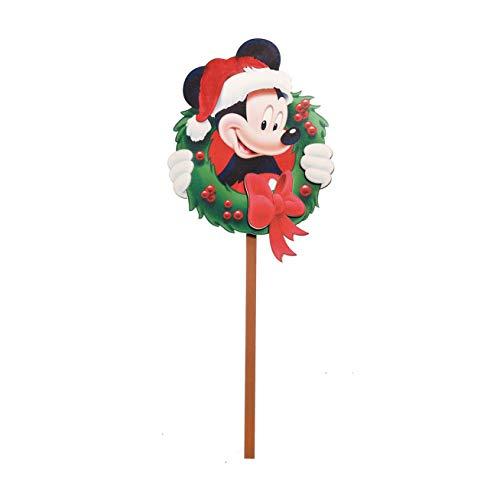 Pick decorativo em madeira 40 cm Disney 1un Cromus, Multicor