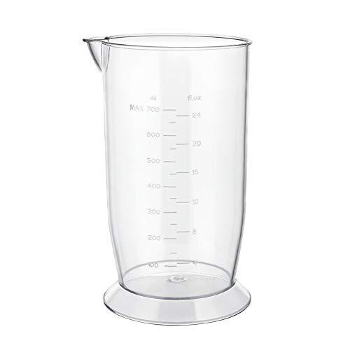 YISSVIC Messbecher mit Deckel verschließbar, für Stabmixer 700 ml (Verpackung MEHRWEG)