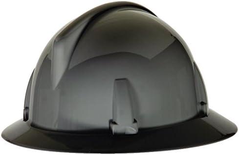 MSA 475388 New item Topgard Full Brim Safety Hat Fas-Trac Sales Hard III with R