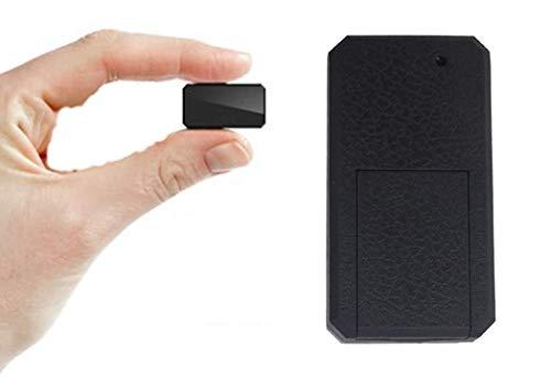 Zeerkeer Mini Localizadores GPS,GPS Tracker para Vehículos/niños Vehículo Rastreador Localizador de Seguimiento en Tiempo Real con Aplicación Gratuita TK901