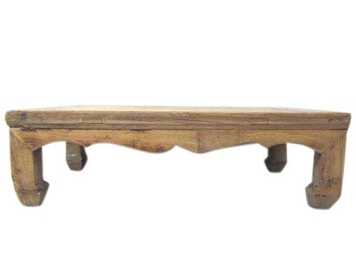 Luxury-Park China Shandong antik großer klassisch niedriger Tisch Ulmenholz Natur