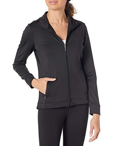 Charles River Apparel Women's Fitness Jacket, Black, L