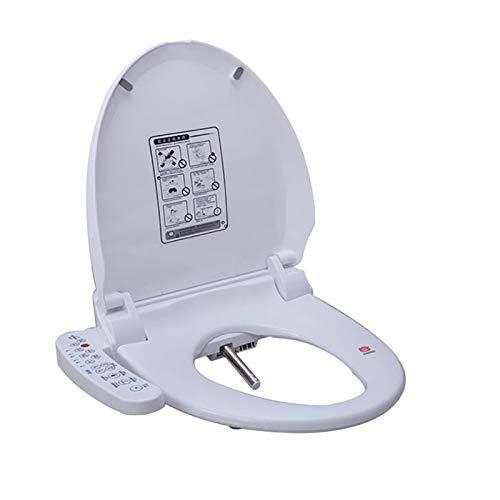 roroz Bidet Elettronico per WC con Essiccatore Ad Aria Calda E Funzioni di Lavaggio A Temperatura Controllata Sedile WC Intelligente Autopulente, 110 V, 220 V