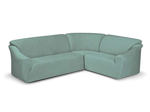 Susi - Sofá de Esquina, Color Azul