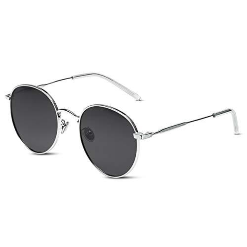 LumiSyne Retro Gafas De Sol Redondas Hombre Mujer Gafas Lennon Steampunk Lentes De Color Polarizadas UV400 Ronda Marco De Metal Estilo Hippy Vintage