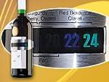 Rosenstein & Söhne Weinthermometer: Praktisches Flaschen-Thermometer für Wein, Sekt, Saft u.v.m. (Korkenzieher)
