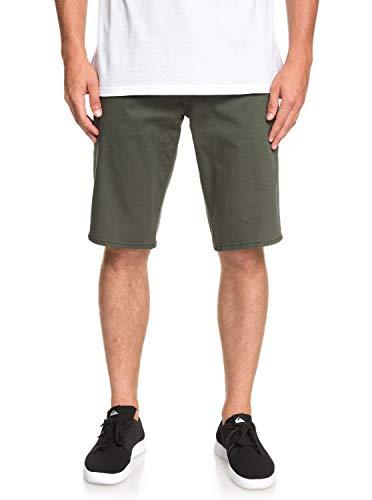 Quiksilver Herren Revolver Color Walk Shorts, Thyme, 32
