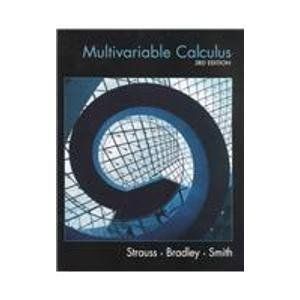 Multivariable Calculus (3rd Edition) 0130337854 Book Cover