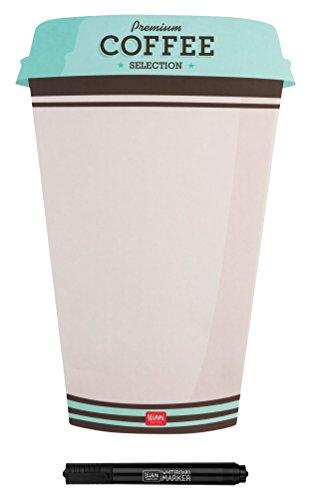 Legami mbo00Magnettafel Kaffee-Form