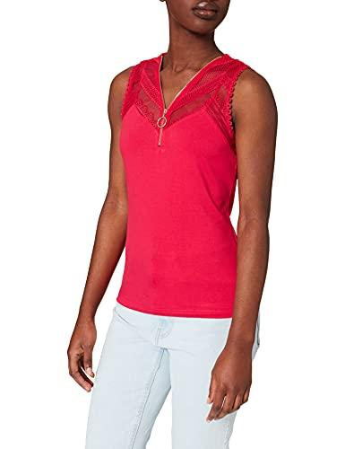 Morgan T-Shirt 211-DODO Camiseta, peonía, L para Mujer