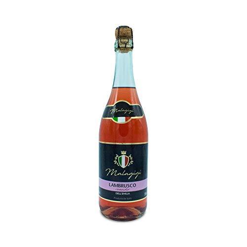 MALAGIGI Lambrusco Rosado- Paquete de 6 botellas de 75 - Total 450 cl.