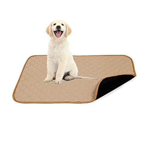 WPCASE Cama para Perros Medianos Colchonetas para Perros Cojin Perro para Perro Gato Suave CáLida Manta Lavable para PequeñO Medianos Grande Mascota Beige,L