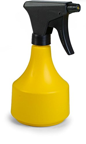Floralo Laiton buse Spray Bouteille, 0,5 l, Jaune, 10 x 12 x 21 cm