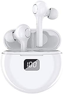 $35 » Sponsored Ad - Wireless Earbuds Stereo Bluetooth Headset in-Ear Sports Earphones Deep Sound with Built-in Microphone, Wate...