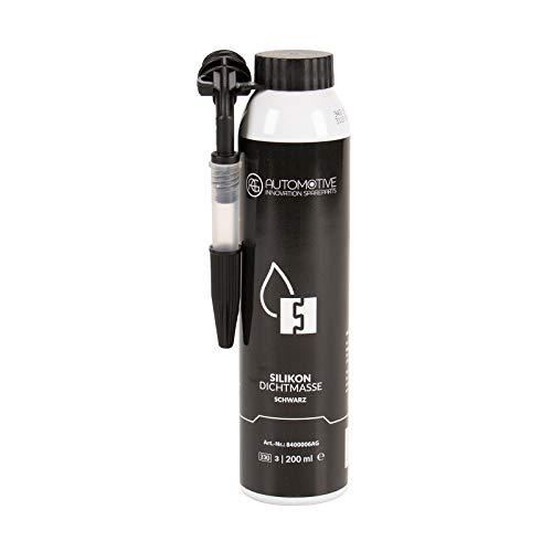 AG Automotive Dichtmasse Silikondichtmasse Dichtmittel Schwarz Druckdose 200 ml -60°C bis +300°C