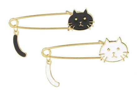 Milopon 1 x Adorable Chat Broche...