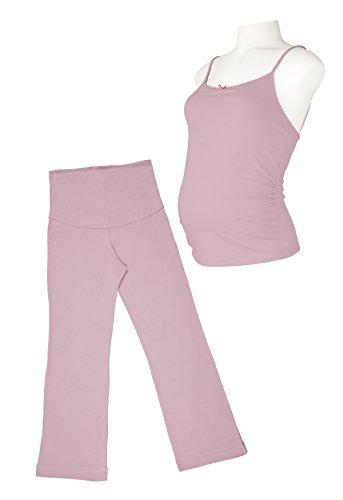 Picchu Maternity - Ensemble de pyjama spécial grossesse - Femme - violet - Small