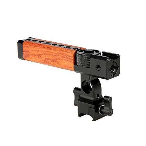NICEYRIG 15mm Rod Clamp Dual /à Single 90 Degr/és Railblock pour Cam/éra Vid/éo Cam/éscope DV DC Support De L/épaule Syst/ème