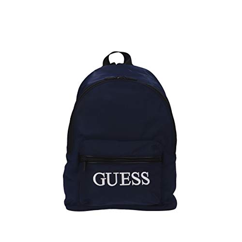 Guess Men's Quarto Backpack, Blue, One Size