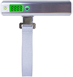 JJJJD Baggage Scale High-Precision Portable Suitcase Called Plastic Small Household Travel Electronic Scale (Range 50kg-50g)